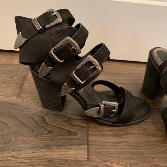 Dolce Vita Shoes - Dolce vita black buckle heels